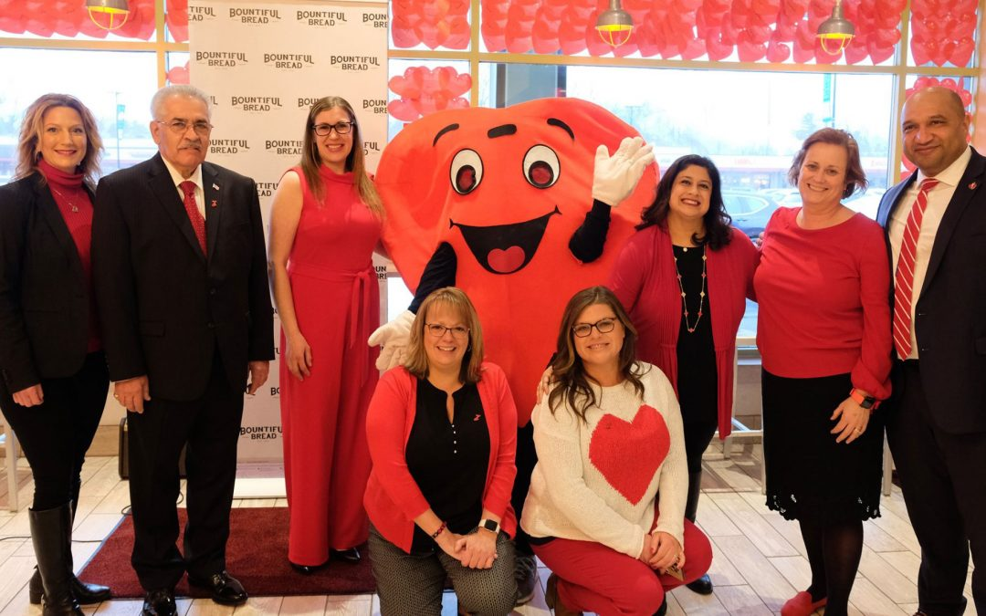"""Bountiful Bread """"Went Red"""" in Support of the American Heart Association!"""