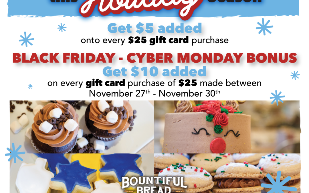 Bountiful Bread Offers Double Cashback Promotion