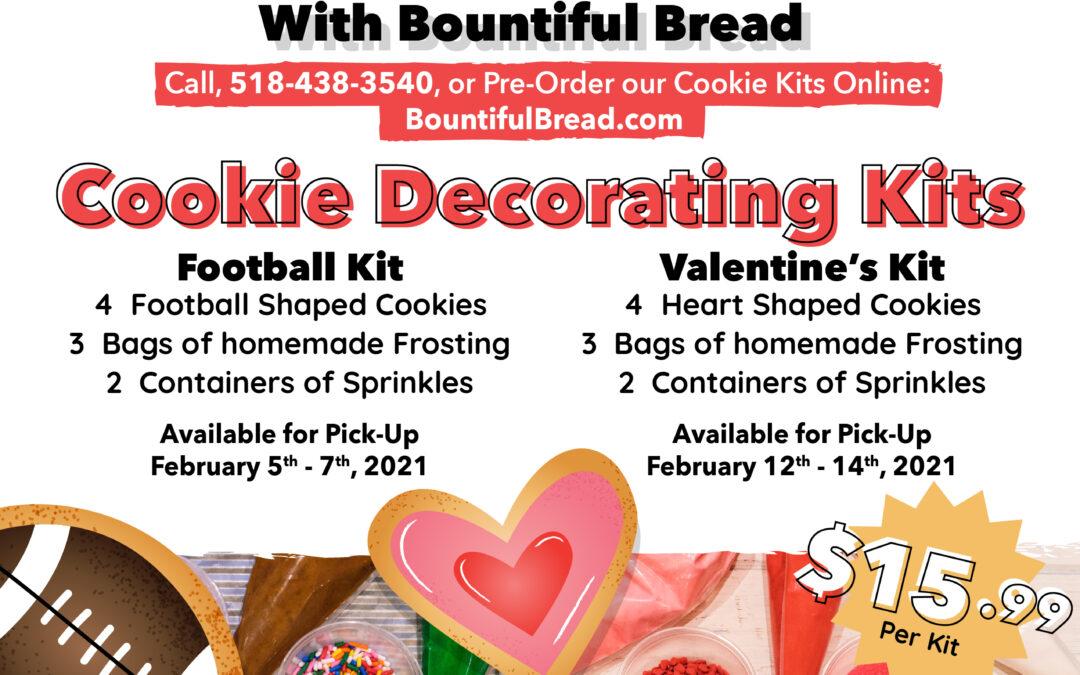 Bountiful Bread February Cookie Kits