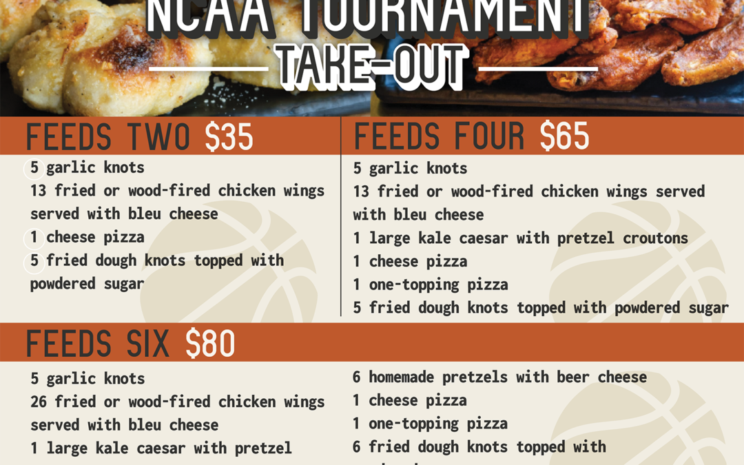 Annabel's Pizza Co. launches NCAA Tournament Take-Out Specials